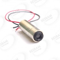 Focusable 850nm 3.5mW 3.2V IR Laser Diode Dot Line Cross Module