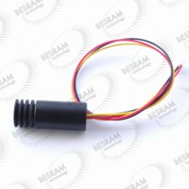 18*45mm Focusable 830nm 30mW DOT Laser Module TTL 100khz