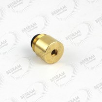 Focusable 1210 Brass Housing Heatsink Lens for 200-1100nm 3.8mm Laser Diode LD