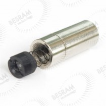 Focusable 1230 1235 1245 Metal Housing with Lens for 5.6mm 3.8mm 9.0mm 200-1100 Laser Diode LD