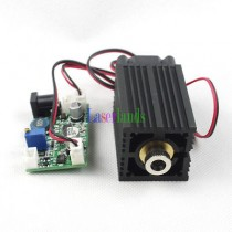 3350 445nm 80-100mW Blue Dot/Line/Cross Focusable Laser Module