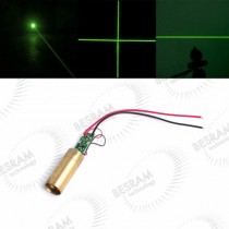 12*41mm 10mW-200mW 532nm Green Dot Laser Module