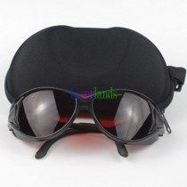 190-540nm&800-1100nm OD4+ Green+IR Laser Protective Goggles Safety Glasses CE