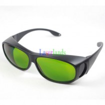 190-450nm&800-1700nm OD4+ Blue+IR Laser Protective Goggles Safety Glasses CE
