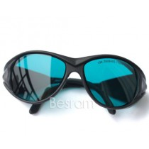 190nm-355nm-380nm UV 600nm-650nm-760nm OD4+ Red Laser Protective Goggles Glasses