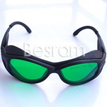 405nm-450nm 610nm-635nm-660nm-760n OD4+ Red/UV Laser Protective Goggles Glasses