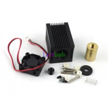 Focusable Housing/Case/Heatsink for 5.6mm TO18 9.0mm To5 Laser Diode LD Module with Fan