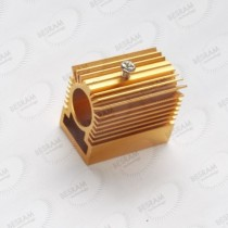 Cooling Heatsink Heat Sink Holder for 13mm Laser Diode Module long time working