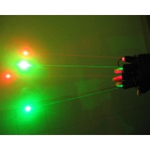 532nm 50mW Green 650nm 150mW Red Laser Glove Visible Beam