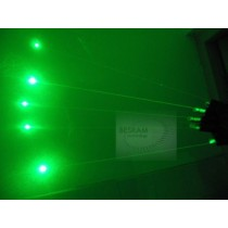 532nm 50mw Green Laser Glove Visible Beams