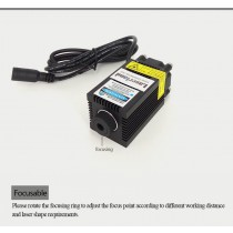 3350 520nm 1w Green Diode Laser for Laser Stage Lighting Marking Engraving w/ PWM/TTL
