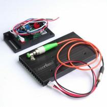 658nm 20mw 62.5/125um FC/APC Red Laser Pigtail Fiber Diode Module 12VDC TTL
