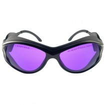 190nm-380nm 570nm-600nm UV Yellow Laser Lighting Safety Protective Glasses OD4+