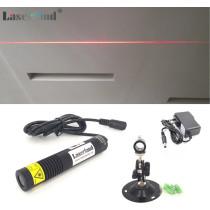 18*100mm Waterproof  650nm 50mW 100mW Red Line Laser Module