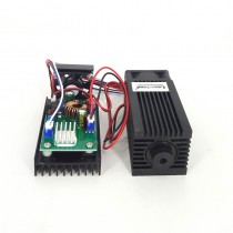 40100 3.5W 450nm 445mW Blue Dot Focusable Laser Module with TTL for Engraving Cutting