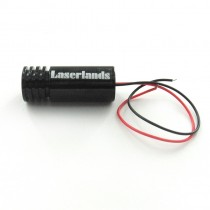 22*60mm Focusable 405nm 100mW  DOT Laser Module
