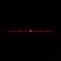 5pcs 7dentate line DOE Diffraction gratings