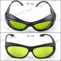 SK-3 190-450nm&800-1100nm OD4+ Blue+IR Laser Protective Goggles Safety Glasses CE