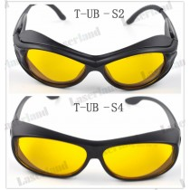 SK-UB 190nm-490nm O.D4+ UV Blue Laser Protective Goggles Safety Glasses CE