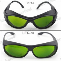 SK-4 190-450nm&800-1700nm OD4+ Blue+IR Laser Protective Goggles Safety Glasses CE