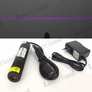 22*100mm 405nm 100mW Line Violet Blue Laser Module