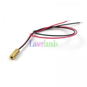 4*10mm 655nm 5mW Red Dot Laser Module