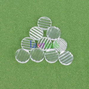 5-110 degree Plastic Line Cross Lens for Laser Line Cross modules