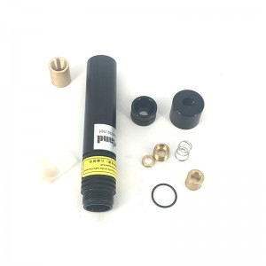 18*100mm Housing for 5.6mm Laser Diode with Glass Line Lens