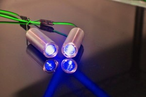 22*70mm Fat Beam 80mW 445nm Blue Dot Laser Module