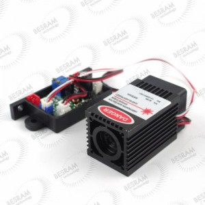 3258 150mW 450nm Blue Dot Laser Module analog TTL 12vdc
