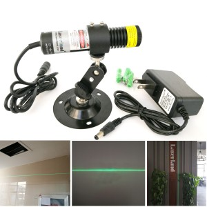 22100 520nm 80mw Green Laser Line Module for Stone Cutting Wood Cutting