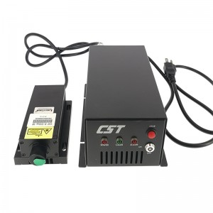 Lab Use  Industrial 1W 532nm Green Dot DPSS High Power Laser Module Pumped Solid Stated Green Laser Analog