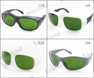 200nm-1400nm O.D1.5+ IPL Beauty Machine Protective Goggles Safety Glasses CE
